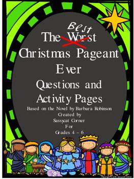 Best Christmas Pageant Ever Unit