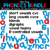 The Big Phonics Bundle - A Year of Spelling and Phonics In