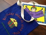 The Birthday Bag and Journal