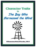 The Boy Who Harnessed the Wind - Character Traits