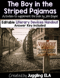 The Boy in the Striped Pajamas Literary Devices Handout