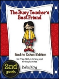 The Busy Teacher's Best Friend: Back to School Edition SEC