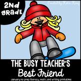 The Busy Teacher's Best Friend January Edition: SECOND GRADE