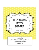 Calculus Review Foldable