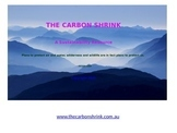 The Carbon Shrink: Sustainability Resource