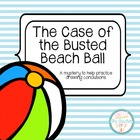 The Case of the Busted Beach Ball - an activity for drawin