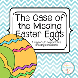 The Case of the Missing Easter Eggs - an activity for draw