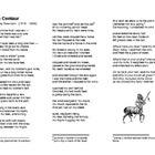 The Centaur - poem and reading exercise
