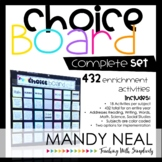 The Choice Board (Complete 36 Week Set)