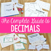 The Complete Guide to Decimals Packet for Upper Grades