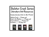 The Complete Skeleton Creek Series-Literature Units for Al