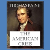 """""""The Crisis, No. 1"""" by Thomas Paine: Text, Questions, and Key"""