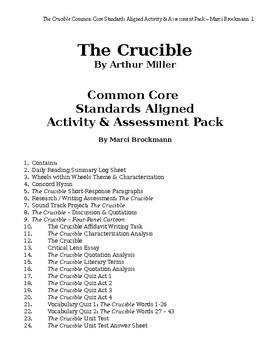 Critical Lens Essay On Crucible Arthur Miller S The Crucible As  Crucible Essay  Ibiblio The Crucible By Arthur Miller  Thesis In An Essay also Write A Good Thesis Statement For An Essay  Research Essay Thesis