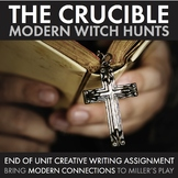 The Crucible, Use Modern Witch Hunts to Make the Play Rele