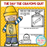 Back to School...The Day The Crayons Quit...Craft/Activities!