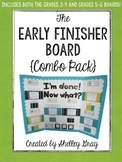 The Early Finisher Board™ Combo Pack {Grades 2-4 and Grade