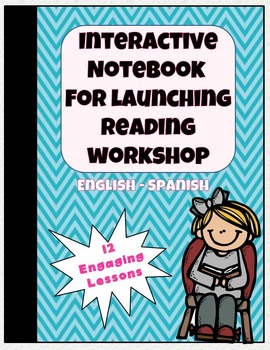 Interactive Notebook for Launching Reading Workshop gr. 2-5 {BILINGUAL}
