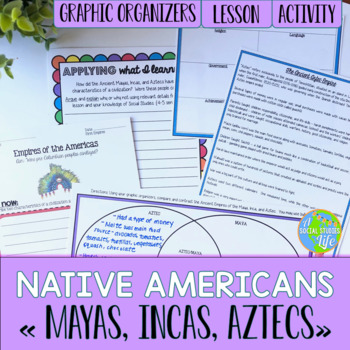 Native Americans! Mayas, Incas, Aztecs