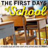 The First Days of School: Procedures, Policies, Rules, and