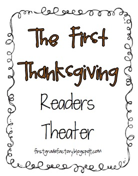The First Thanksgiving Readers Theater