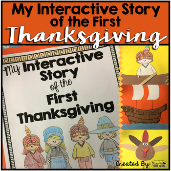 Thanksgiving Book ~ My Interactive Story of the First Thanksgiving