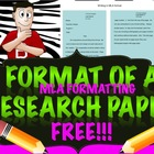 The Format of a Research Paper