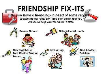 """The """"Friendship Fix-It"""" Corner"""