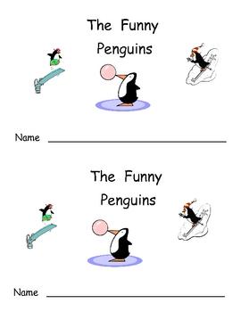 The Funny Penguins- Winter Kindergarten Emergent Reader book