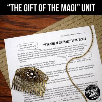 The Gift of the Magi: Short Story Literary Analysis Unit