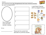 The Gingerbread Girl Goes Animal Crackers Activity