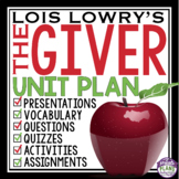 GIVER: Unit Plan - Assignments, Presentations, Quizzes, Vo