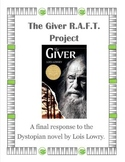 The Giver by Lois Lowry R.A.F.T. Project