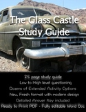 The Glass Castle by Jeannette Walls Study Guide and Activities
