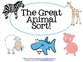 The Great Animal Sort!