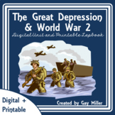 The Great Depression & World War II Lap Book