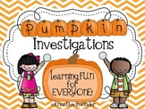 The Great Pumpkin Investigation!