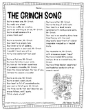 The Grinch Song: Similes & Metaphors
