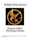The Hunger Games 27 Chp. Mult. Choice Quizzes & Answer Keys