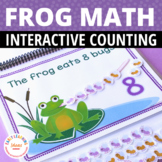 The Hungry Frog:  An Interactive Counting Book for Prescho