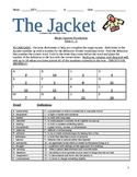 The Jacket by Andrew Clements Complete 32 page Literature Unit