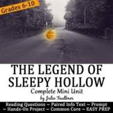 Halloween for Secondary ELA {The Legend of Sleepy Hollow M
