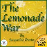 The Lemonade War Novel Study CD