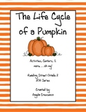 The Life Cycle of a Pumpkin Reading Street Grade 2 2011 &