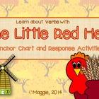 The Little Red Hen Anchor Chart Activities