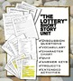 """""""The Lottery"""" by Shirley Jackson Unit with Hunger Games Co"""