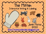 The Mitten Interactive Writing & Labeling