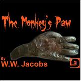 Monkey's Paw Activity Bundle 50 Pages
