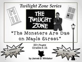 The Monsters Are Due on Maple Street Twilight Zone Unit Re