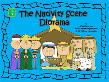 The Nativity Scene Diorama for Little Ones