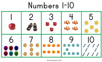 Numbers 1 10 - Lessons - Tes Teach